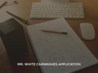 Mr. White carwashes WIP