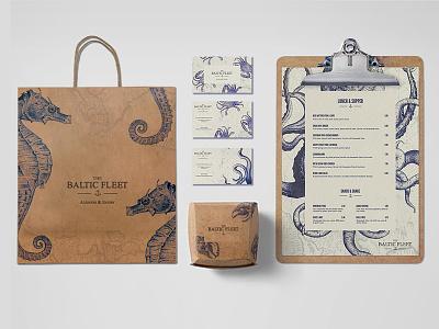 The Baltic Fleet design print