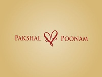Wedding logo- P+P heart mongram