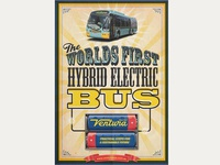Roll-up, roll-up and see the Worlds first Hybrid Electric Bus