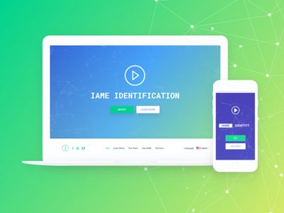 IAME Website blockchain security website bitcoin ethereum wallet cryptocurency