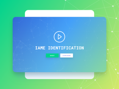 IAME Website Home Page blockchain security website bitcoin ethereum wallet cryptocurency