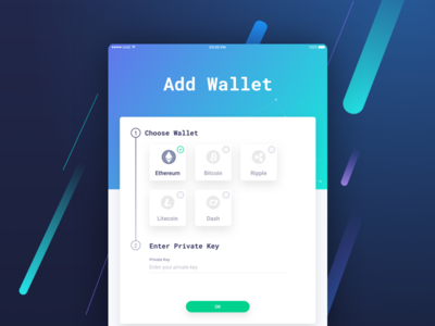 IAME Wallet for iPad blockchain security website bitcoin ethereum wallet cryptocurency