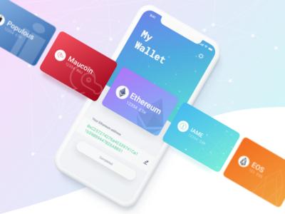 IAME Appstore wallet bitcoin ethereum iameidentity iame cryptocurrency crypto