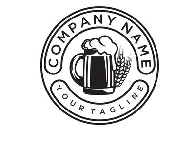 Craft Beer / Brewery Label logo design