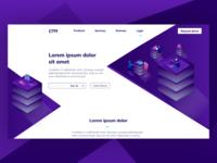Cap Table Management Landing Page