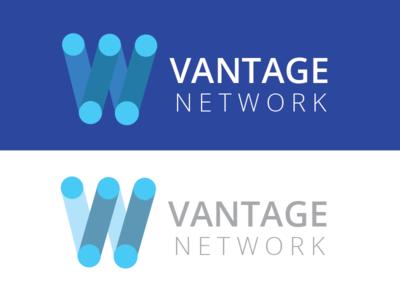 Exploring Logo design for vantage network