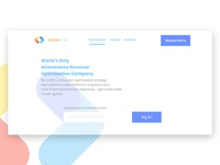 ConvertCart Landing page Concept