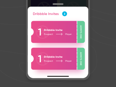 Two Dribbble Invites!