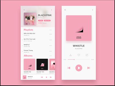 Singer / Music ui app
