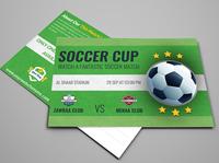 01 Soccer Postcard Template