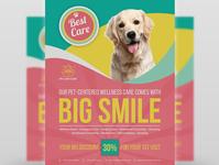 Pet Care Center Flyer Template