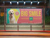 Pet Care Center Billboard Template
