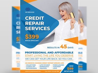 Credit Repair Services Flyer Template taxes tax return tax refund tax repair problem poster incometax income tax credit repair credit issue credit commercial business bank american accounting