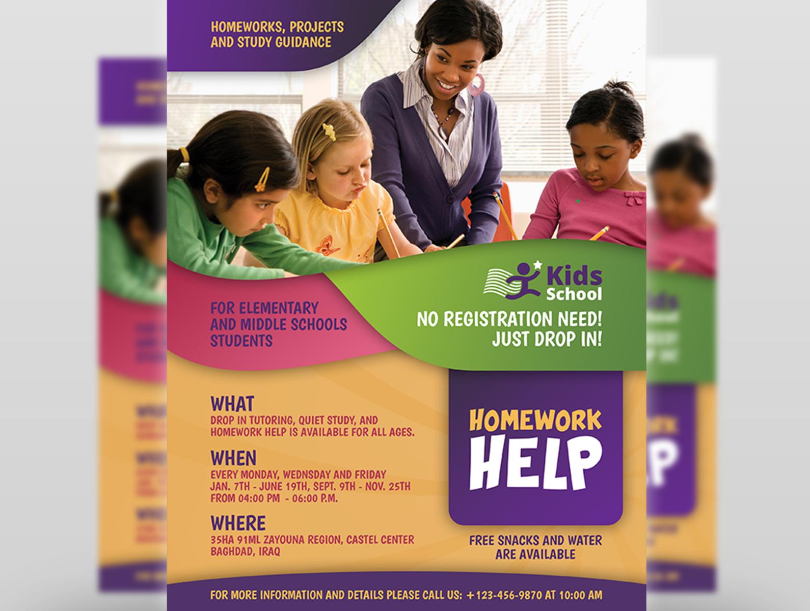 After School Homework Help - Get expert homework help