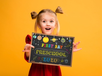 First Day of Preschool Sign free fonts chalk blackboard chalkboard mom first day graduate preschool sign language first day of preschool sign diy child kids school poster first day of school sign