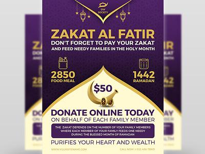 Zakat Flyer Islamic Flyer Template poster muslim mosque middle east mecca madina ksa kaaba islamic religion islam iftar hajj haj god ethnicity eid mubark eid cultures charity allah