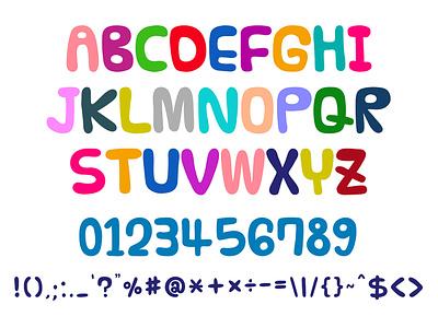 Aso Kids Font blackboard font