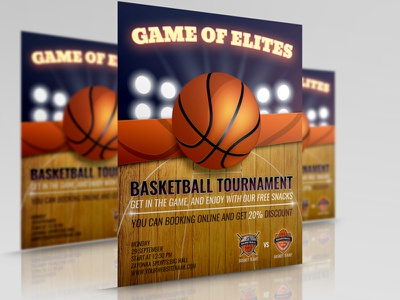 Basketball Flyer Template sport