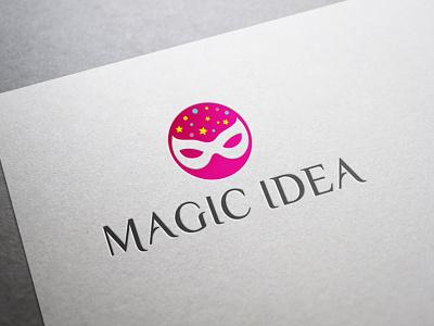 Magic Idea Logo Template stick