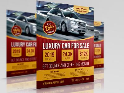 Car For Sale Flyer Template eps flyer