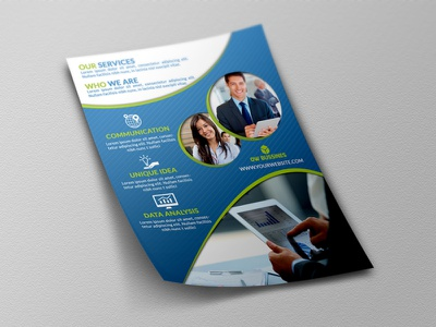 Corporate Flyer Template print ready