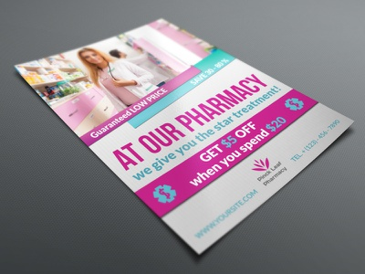 Pharmacy Flyer Template pharmacy flyer design