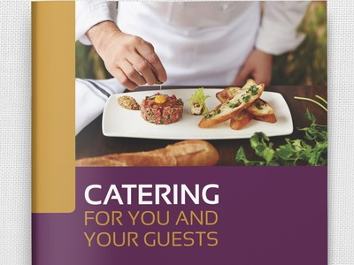Catering Brochure Template By OWPictures Dribbble - Catering brochure templates