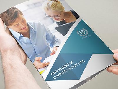 Corporate Business Tri-Fold Brochure Vol.23 profile company catalog brochure business corporate