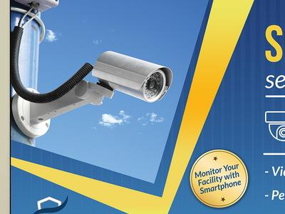 Security System Billboard Template