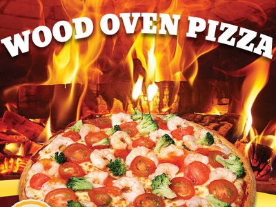 Pizza Restaurant Table Tent Template table tent menu food wood oven flyer restaurant pizza