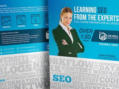 Seo Training Course Dvd Template web design training course cover design cd dvd web seo