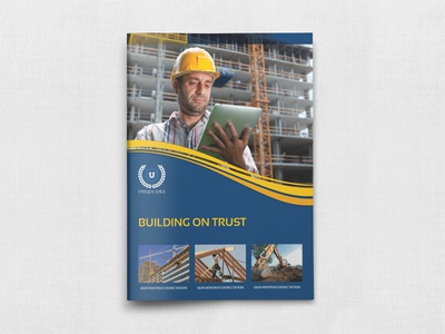 Construction Brochure Template By Owpictures Dribbble