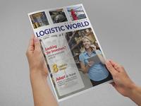 Logistics Services Newsletters Design Template