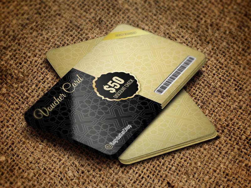 Voucher Gift Card Template voucher card gift card gift voucher