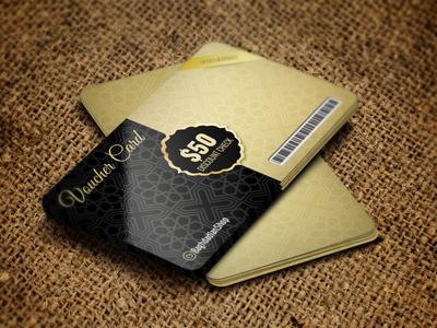 Voucher Gift Card Template