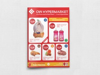 Supermarket Catalog Brochure Template