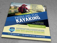 Kayaking Flyer Template