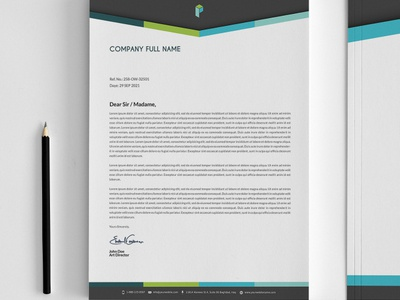 corporate stationery design template by owpictures dribbble dribbble