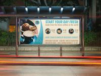 Cafe Billboard Template