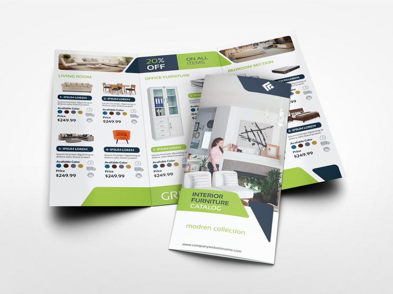 tri fold brochures templates