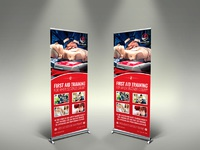 01 first aid signage template
