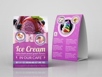 03 ice cream table tent template