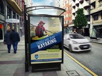 Kayaking Poster Template