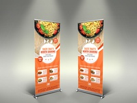Restaurant Sigange Rollup Template