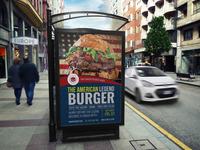 Burger Restaurant Poster Template