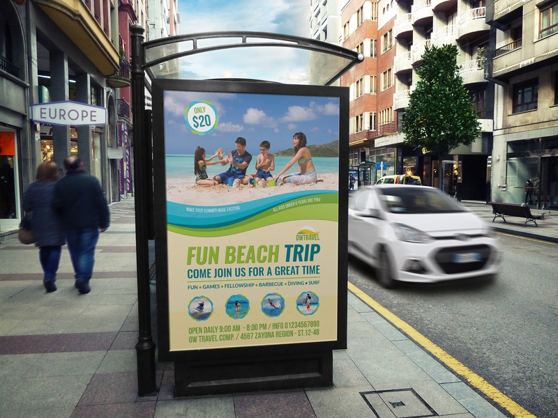 Tour And Travel Poster Template tourism tour template sun summer resort promotion post leisure hotel presentation holidays holiday guide exotic company booking beach agency advert ad