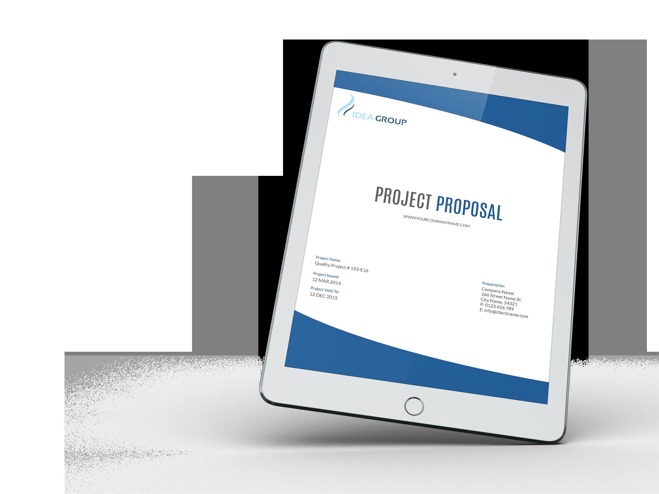 01 company proposal e book template