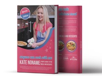 Cooking Cover Book Template