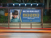 Kids Charity Billboard Template